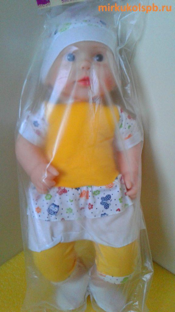 Аленка Сан Бэби 101 Кукла пупс 58 см