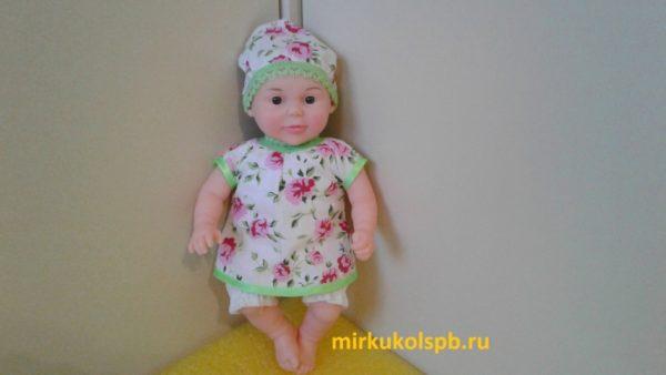 Кукла Алиса Сан Бэби 401 Пупс 28 см