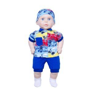 Егорка Сан Бэби 127 Кукла мальчик Пупс 58 см