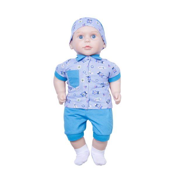 Егорка Сан Бэби 128 Большая кукла мальчик 58 см. Россия