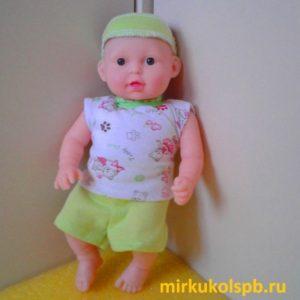 Кукла Саша мальчик Сан Бэби 402 пупс 28 см
