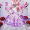 Кукла в бальном платье 3508