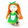 Набор для создания текстильной куклы Хозяюшка. Перловка
