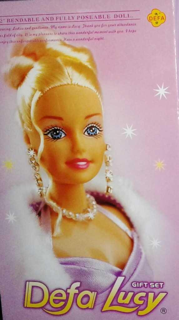 """Кукла """"Defa"""" с аксессуарами  в/к 20,5*34*6,5 см"""