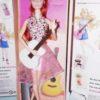 Рыжеволосая кукла с гитарой. Шарнирная. Sariel