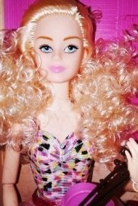 Sariel. Кукла со скрипкой