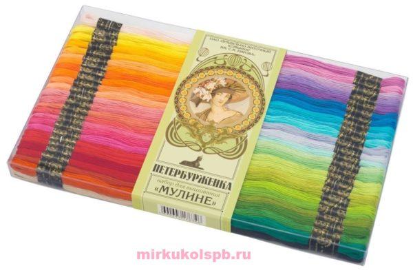 Набор ниток мулине для вышивания Петербурженка, ПНК им. Кирова