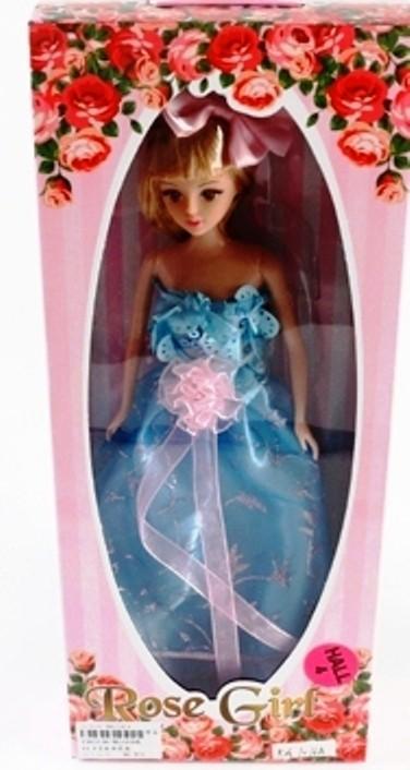 Rose Girl Кукла в синем платье
