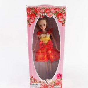 Rose Girl. кукла в красно-желтом платье