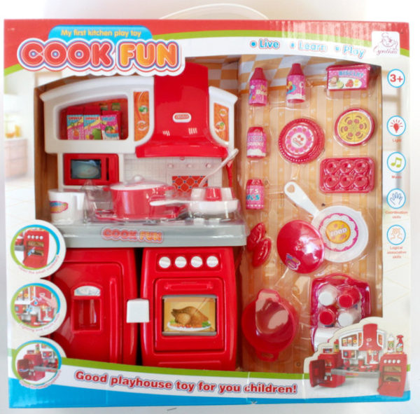 Кухни для кукол - cook fun моя первая кухня