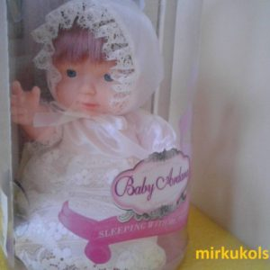 Пупс Baby Ardana в белом платье в/к 24,2×14 см
