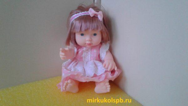 Пупс в платье Ardana baby подарок для девочки.