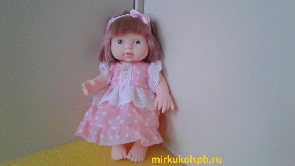 Пупс Ardana baby в платье в/к 24,2×14 см