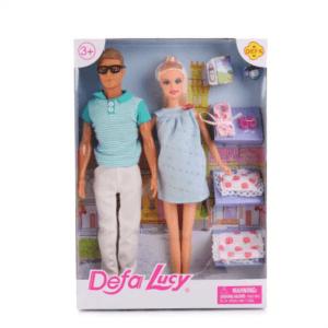 Барби. Семейная пара Беременная жена
