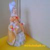 Дама в бальном платье. Фарфор. Коллекционная кукла ручной работы. 4075