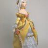 Кукла ручной работы - Дама в бальном платье. Фарфор. Коллекционная кукла ручной работы. 5538