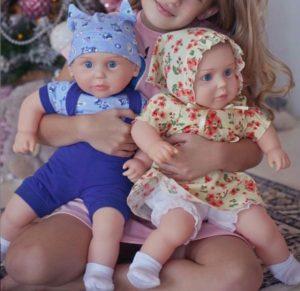 Куклы Аленка и Егорка