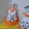 Скарлетт. Кукла фарфоровая 4071