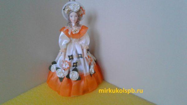 Скарлетт. Кукла фарфоровая