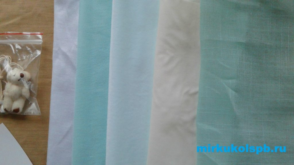 Набор для шитья мягкая кукла - ткани Арт Узор