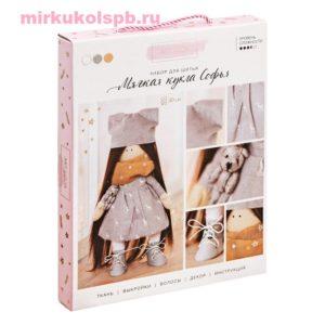 Мягкая кукла Софья. Набор для шитья текстильной куклы. Арт Узор