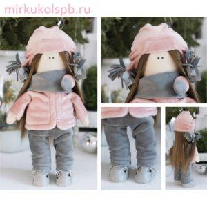 Мягкая кукла Лара